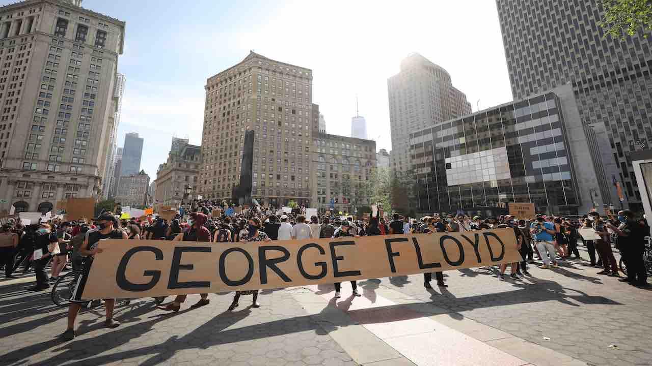 Proteste per Floyd