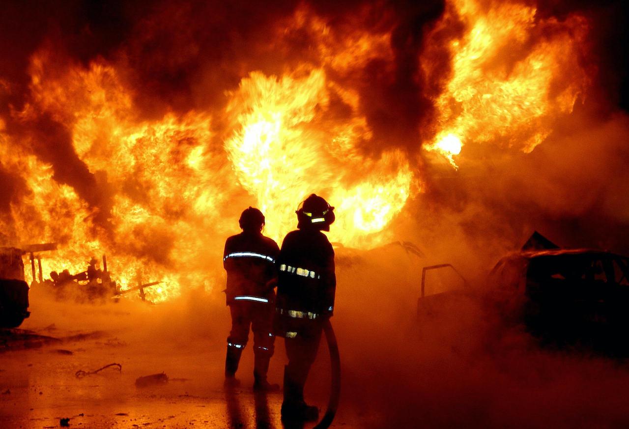 incendio Montelibretti