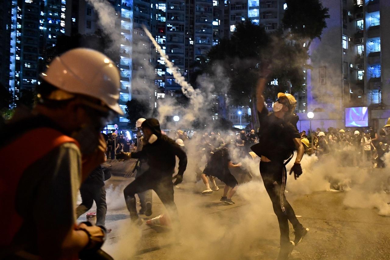 Hong Kong, Pompeo: