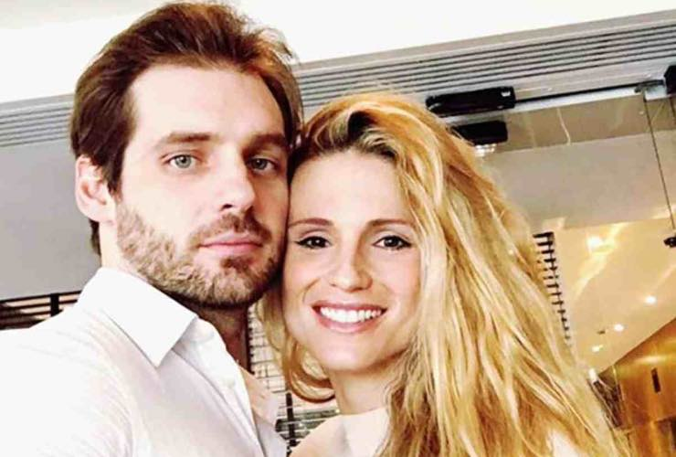 Michelle Hunziker e Tomaso Trussardi - meteoweek