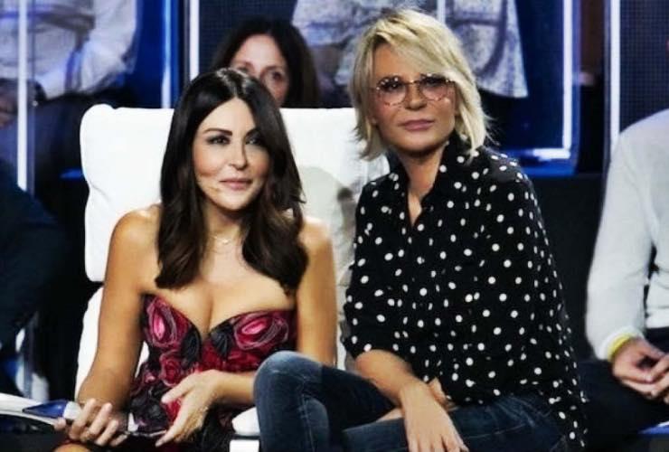 Sabrina Ferilli e Maria De Filippi - meteoweek