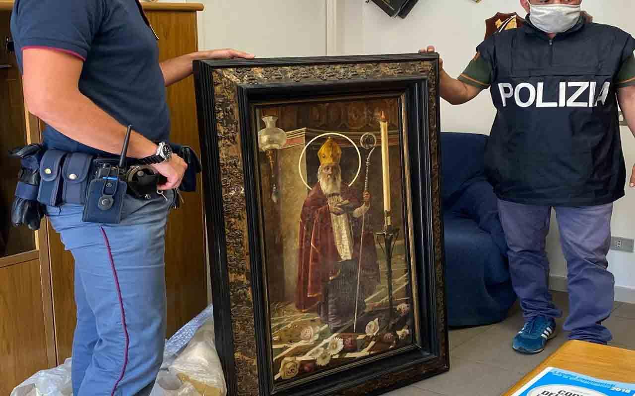 Opere d'arte rubate: fermato lo zio della bimba scomparsa