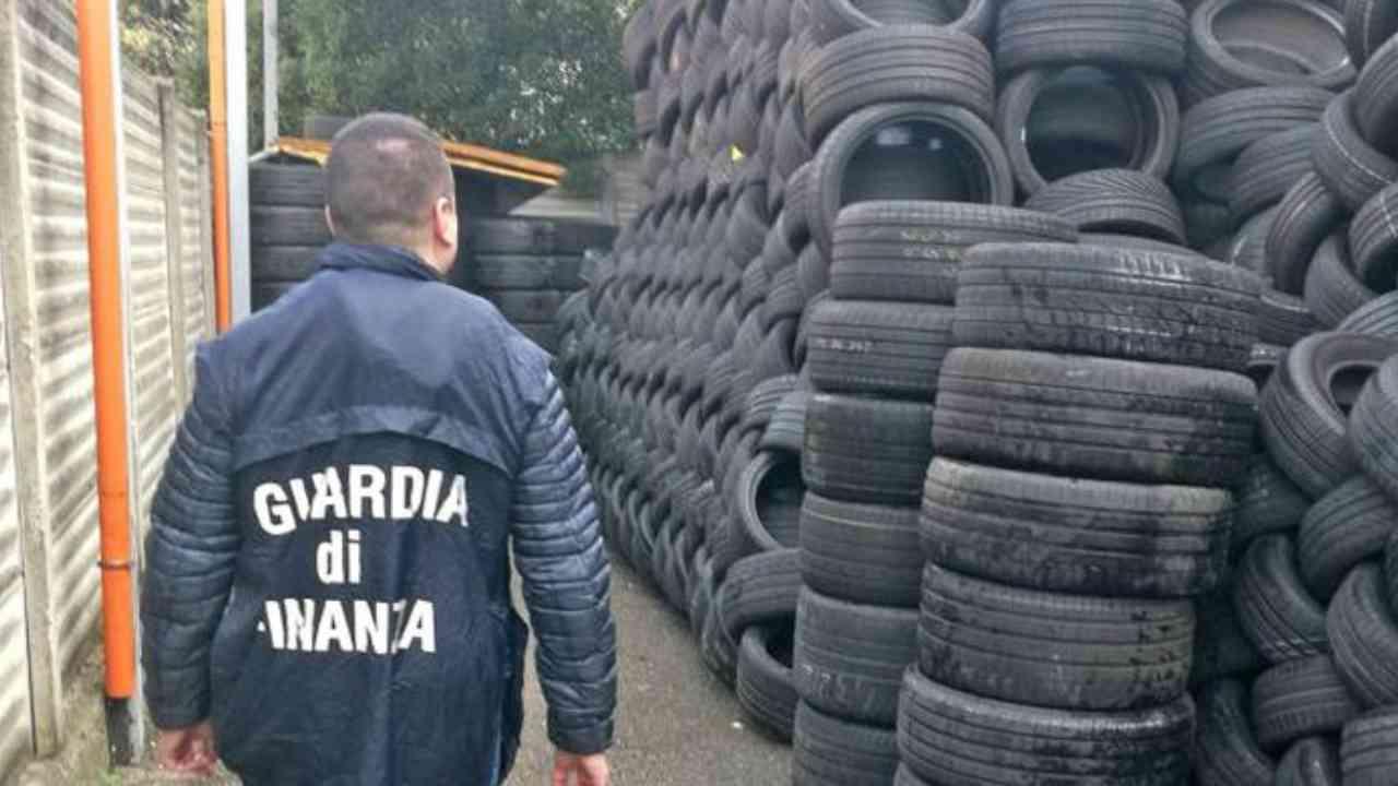 Vicenza    scoperta frode milionaria nel commercio di pneumatici