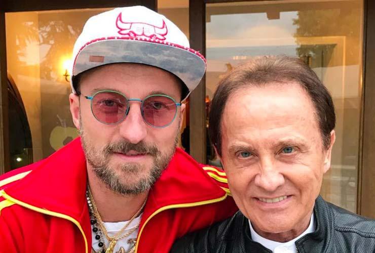 Roby Facchinetty e Francesco