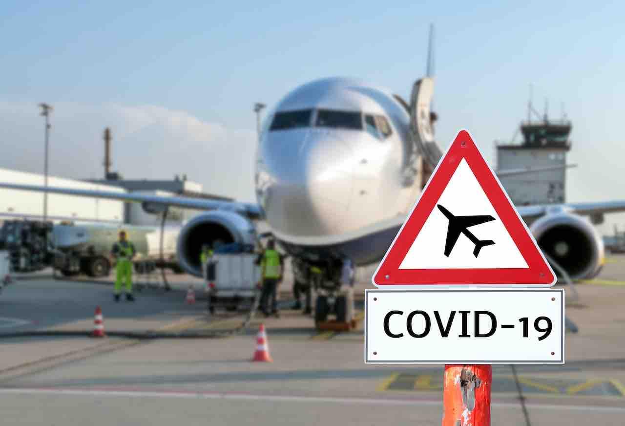 Il 45% dei turisti arriva in Italia in aereo. E' tutto fermo