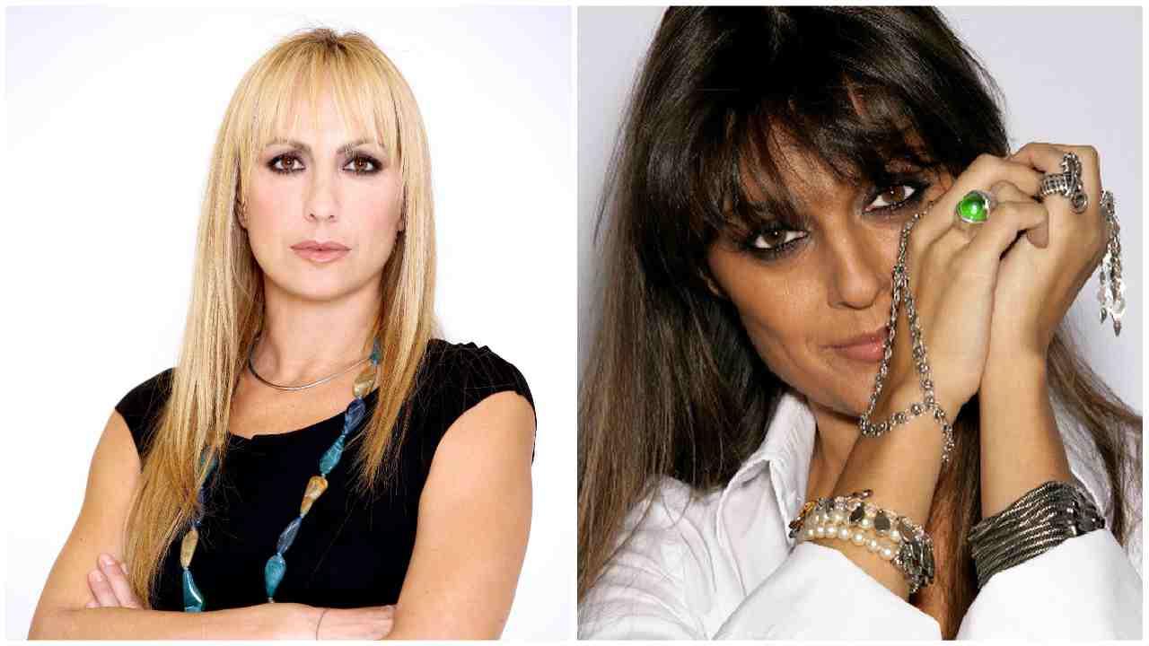 Alessandra Celentano e la cugina Rosita in monopattino senza