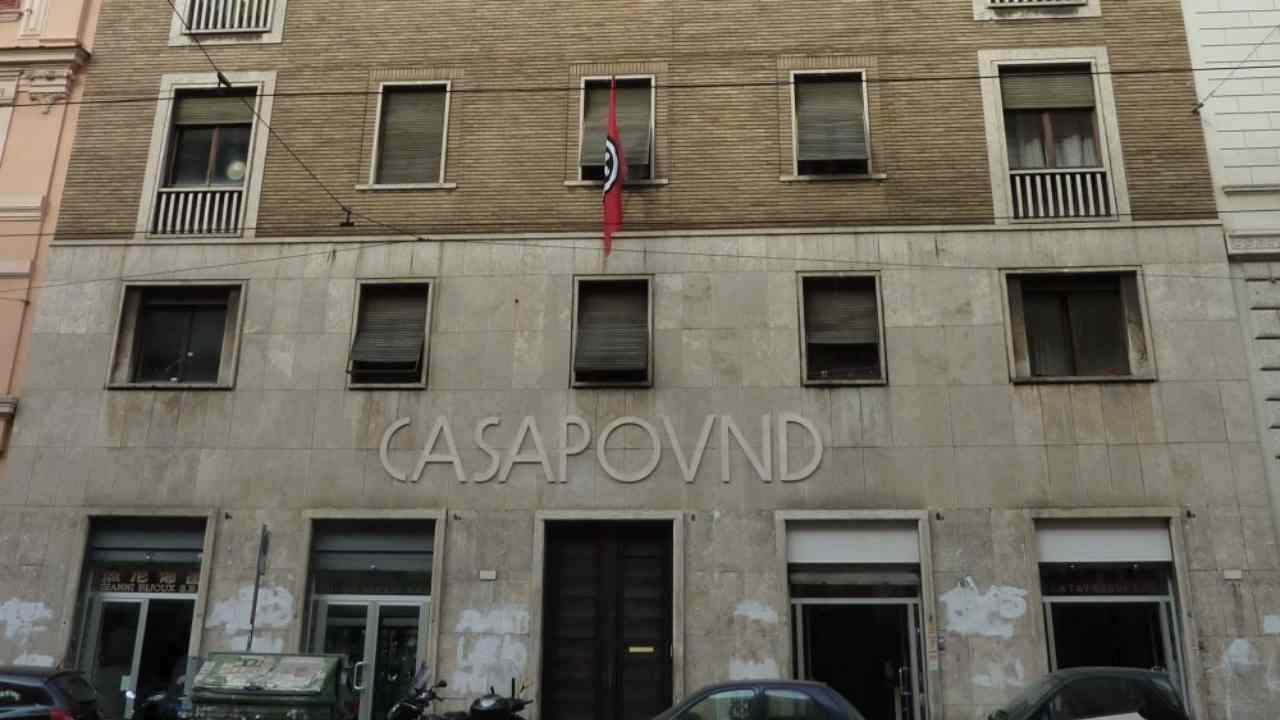 Casapound: immobile dopo sequestro andrà a Tribunale