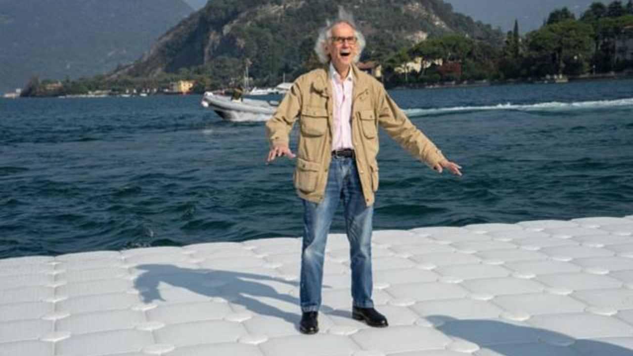 """Addio all'artista Christo, autore di opere """"impossibili"""""""