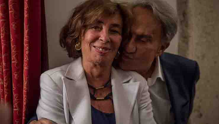 Emilo Fede con la moglie evasione