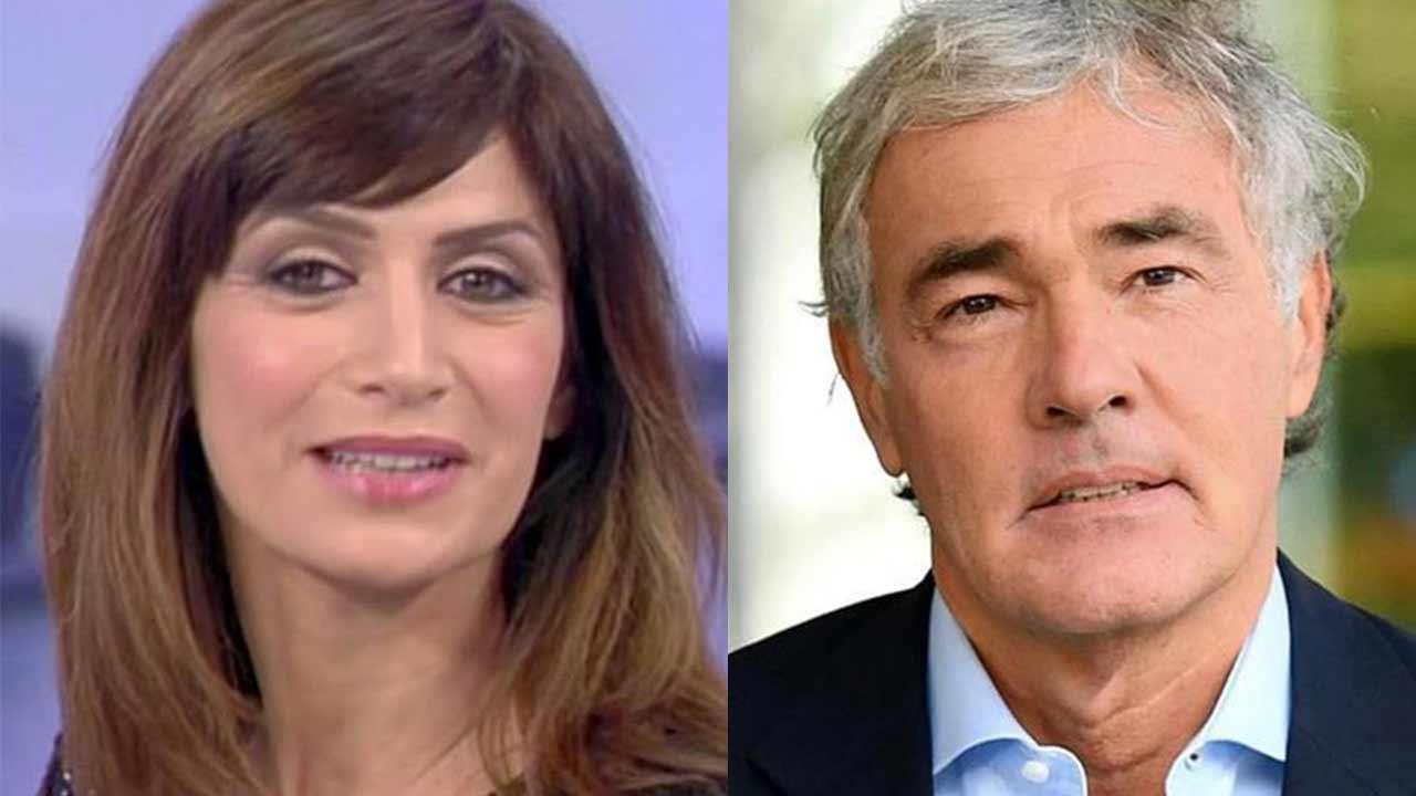 Barbara De Santi e Massimo Giletti