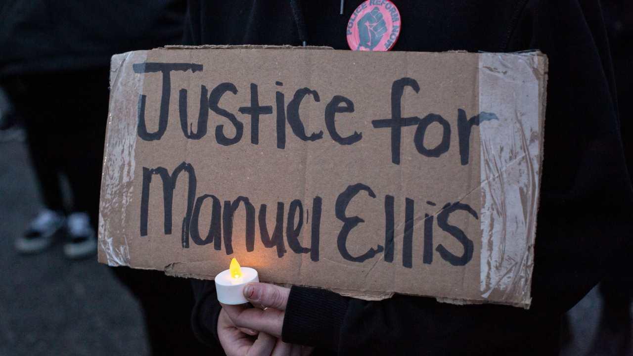 manuel ellis afroamericano ucciso
