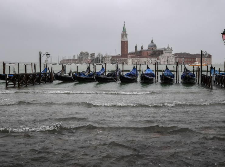 Torna acqua alta a Venezia: massima prevista fino a 120 centimetri