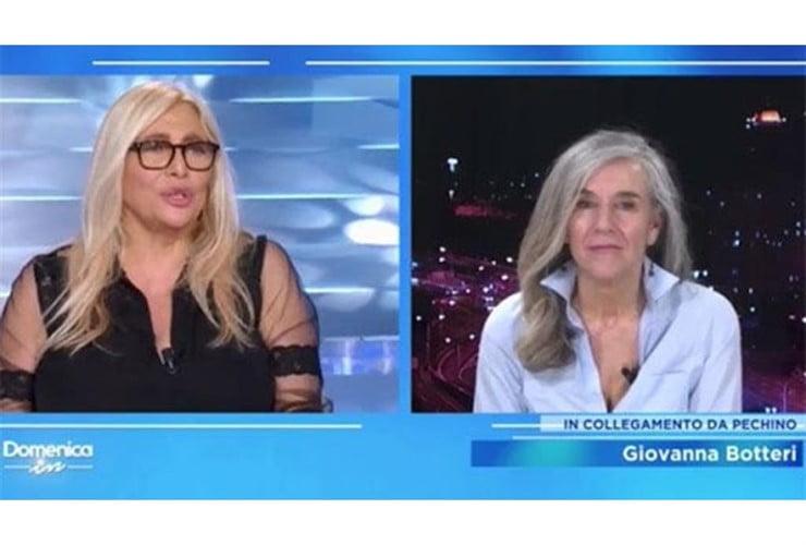 """Giovanna Botteri commossa a Domenica In, """"Provo molta solitu"""