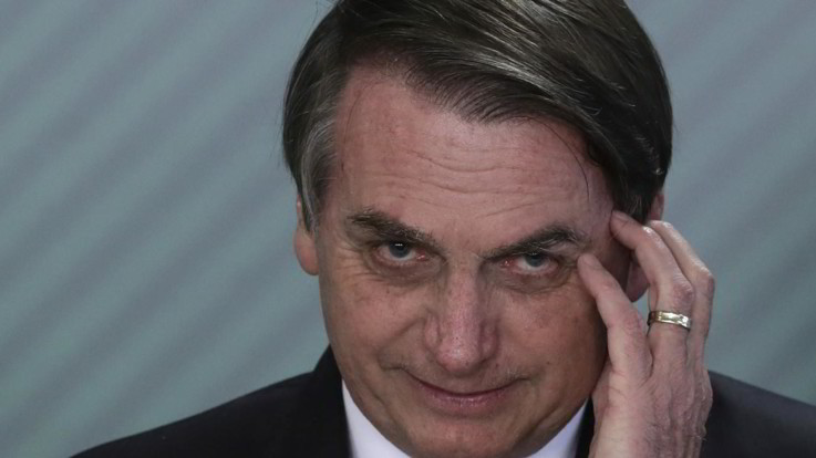 Presidente brasiliano positivo al virus