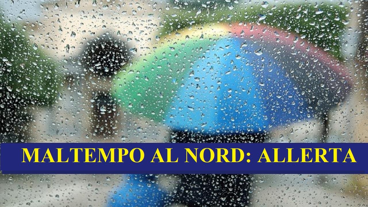 Allerta al Nord: maltempo e vento forte in sei regioni per t