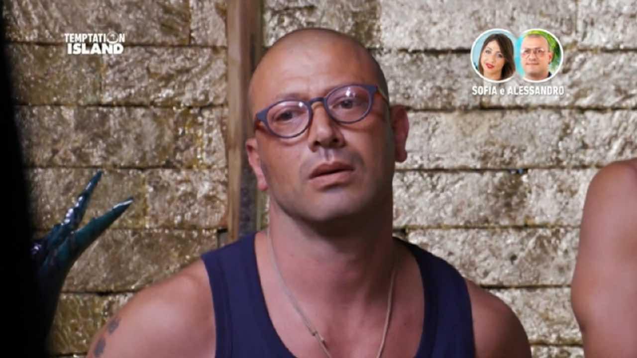 Alessandro ha paura di Sofia | Reazioni esagerate a Temptati