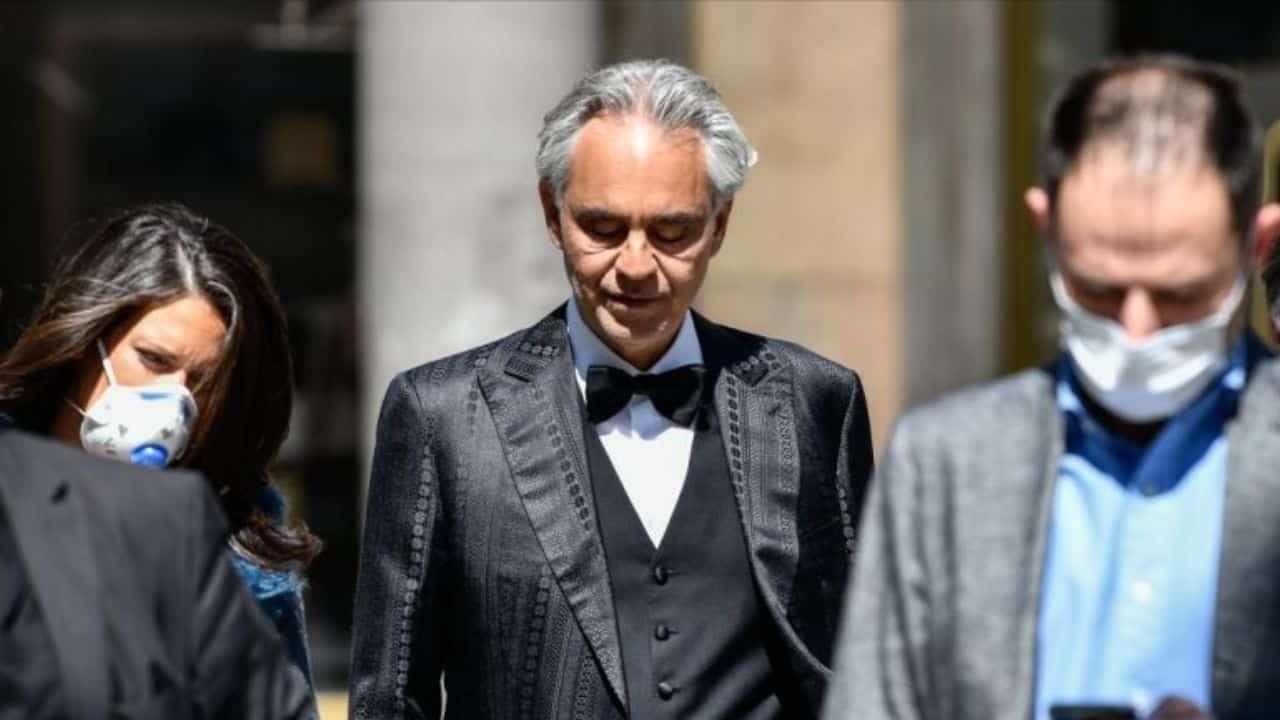 Andrea Bocelli trasgredisce lockdown