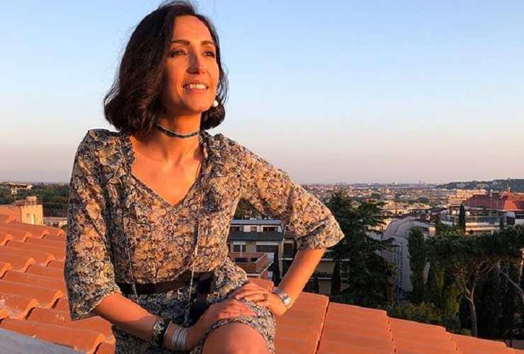 Caterina Balivo eroina green