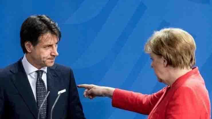 Conte deluso da Merkel aggiustato piano Recovery Fund
