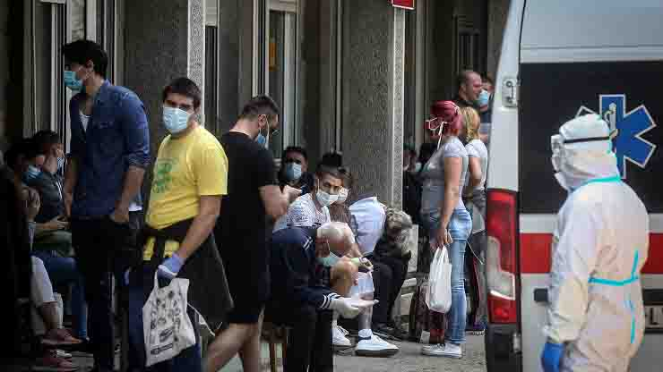 Emergenza Coronavirus a Belgrado