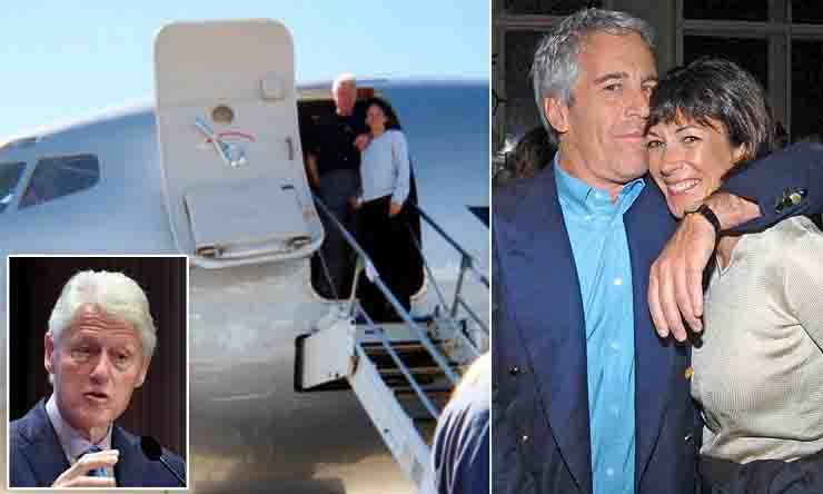 Epstein sesso potere e suicidi jet privato Maxwell