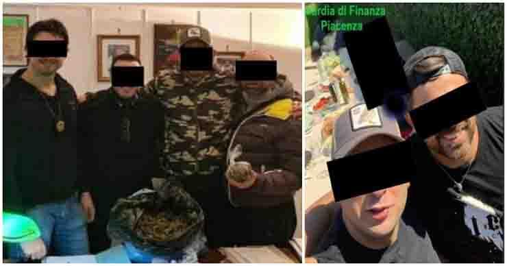 Feste in piscina pestaggi e droga carabinieri levante guardia di finanza piacenza
