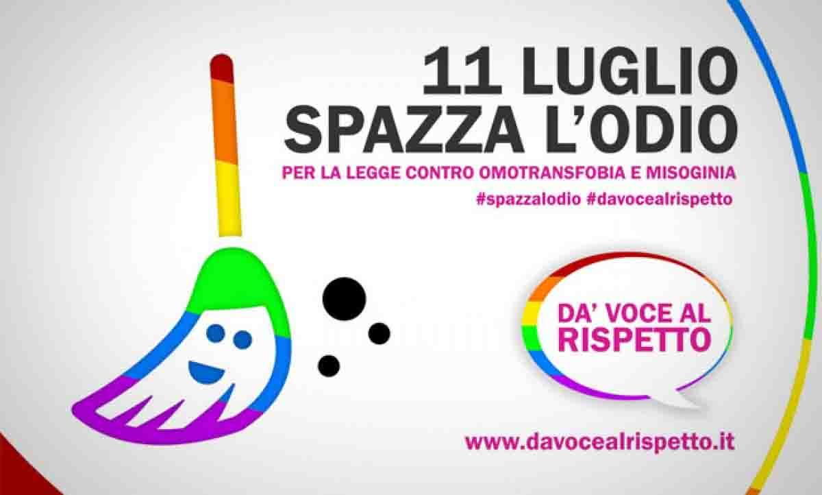 Omofobia: flashmob e altri eventi con l'hashtag #spazzalodio