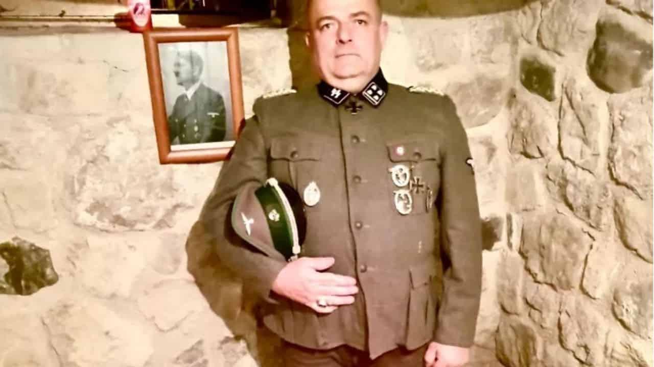 Gabrio Vaccarin fotografato con la divisa nazista, Fratelli