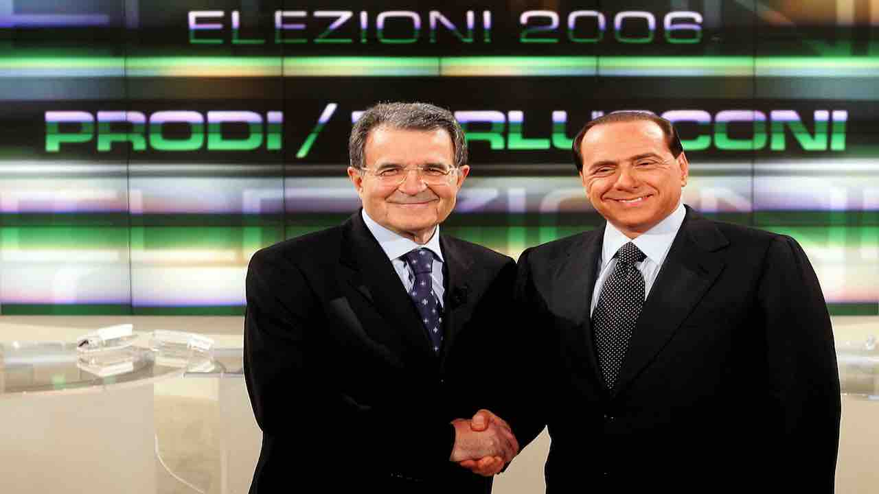 Prodi e Berlusconi - Meteoweek.com