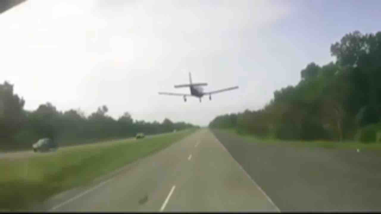 Aereo atterra in autostrada in Louisiana - Meteoweek.com