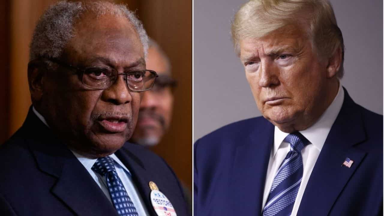 In Usa è catastrofe sanitaria - James Clyburn e Donald Trump