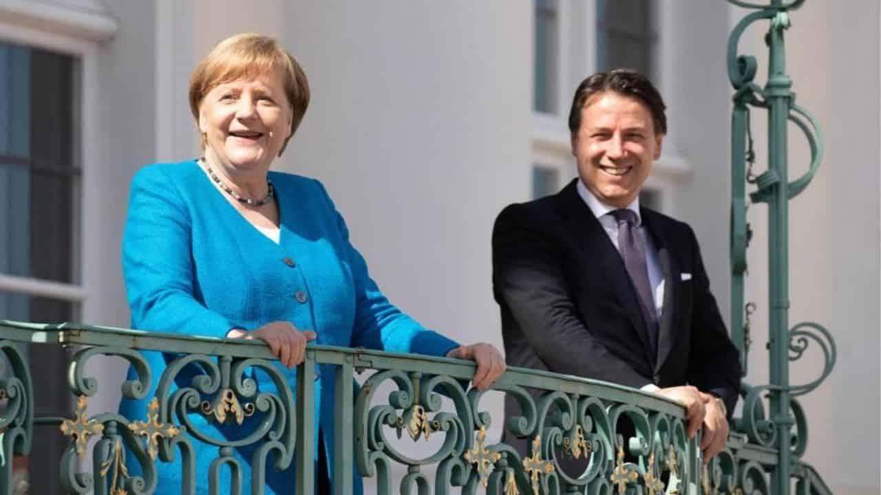 """Incontro Merkel Conte sul Recovery Fund, la cancelliera: """"Da"""