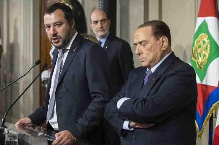 Berlusconi Salvini intervista governo non arriverà 2023