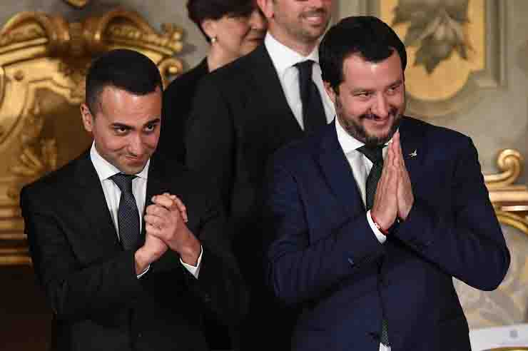 Di Maio Salvini intervista Matteo Renzi soldi Europa