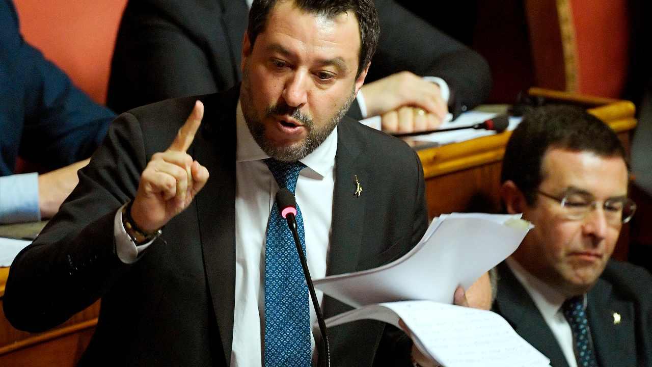 Intesa Autostrade, Salvini: Benetton hanno stappato perché h