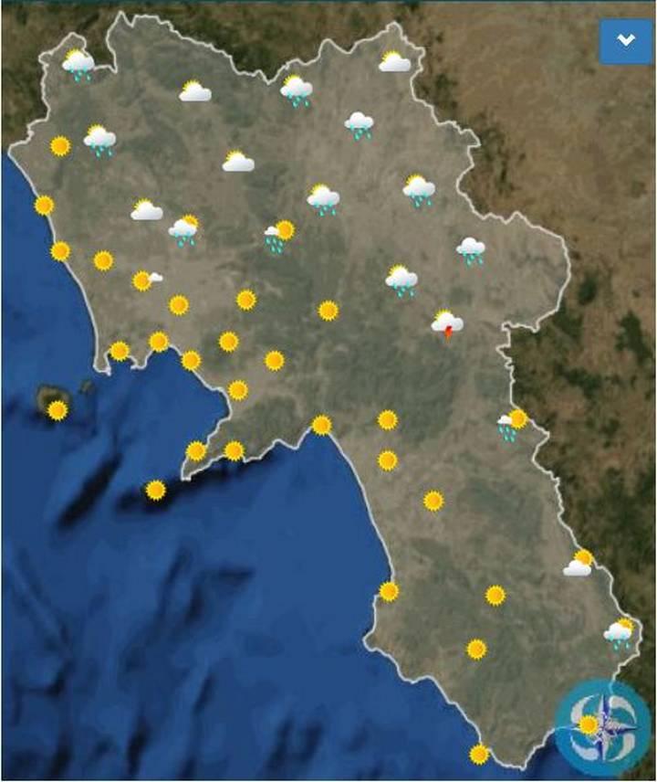 Provincia Di Napoli Cartina.Meteo Napoli Oggi Sabato 25 Luglio Cieli Nuvolosi Meteoweek