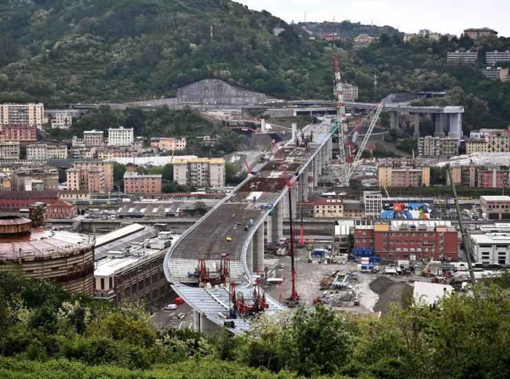 Genova, inaugurazione nuovo Ponte si terrà il 3 agosto