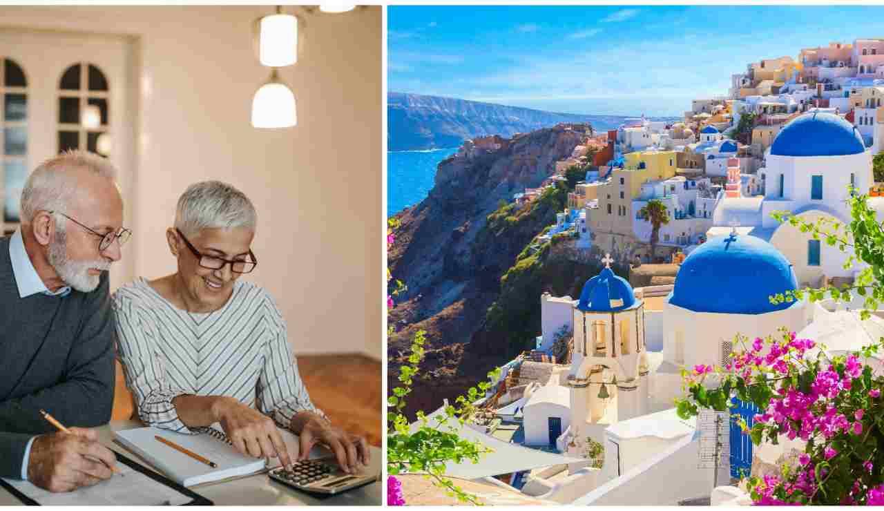 Grecia e pensioni straniere-Meteoweek.com