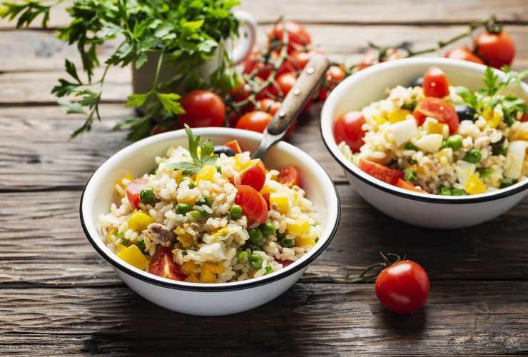 Cibi estivi: Insalata di riso-Meteoweek.com