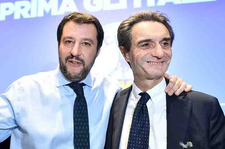 Salvini Fontana indagini camici Lombardia