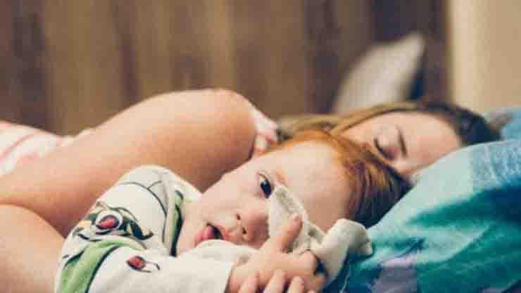 Studio lockdown problemi disturbo sonno sui bambini