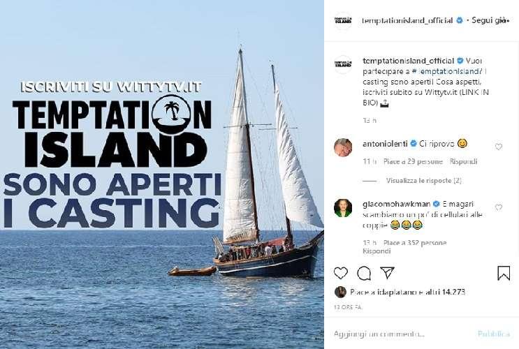 Temptation Island esclude i Vip