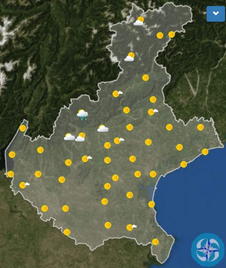 Meteo Verona oggi venerdì 31 luglio: cielo sereno