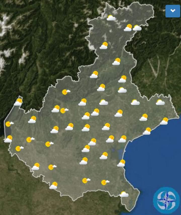 Meteo Venezia domani lunedì 13 luglio: nuvoloso in mattinata