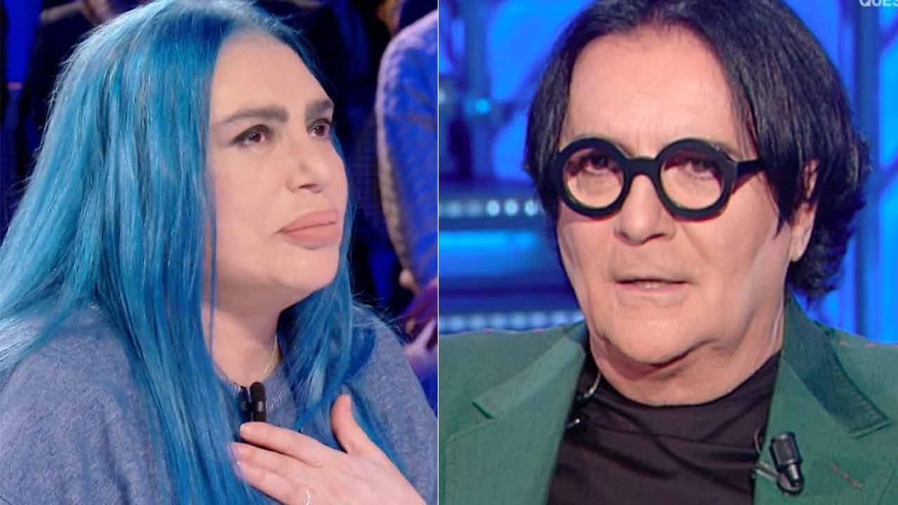 """Renato Zero """"colpisce"""" Achille Lauro: """"Io non ero un clown e mi sono fatto il mazzo"""""""