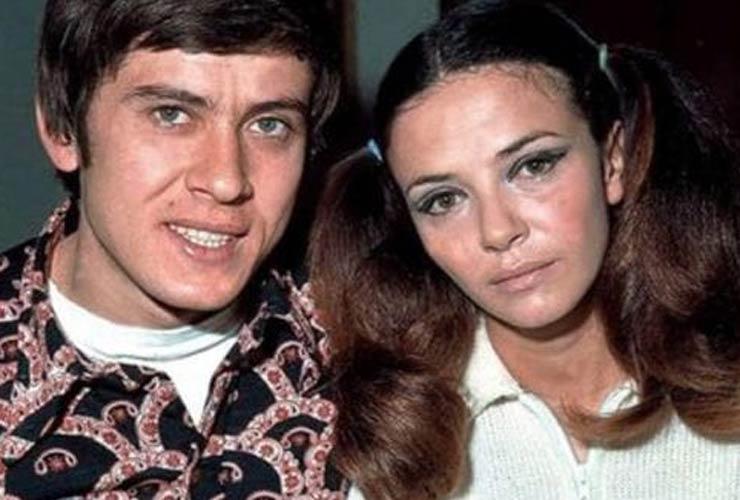 Gianni Morandi e Laura Efrikian
