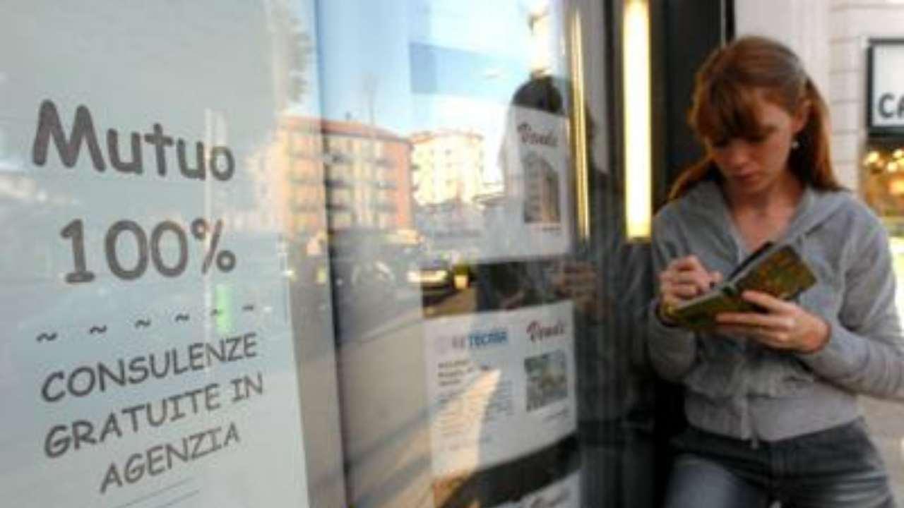Mutui al minimo storico: 1,26%, ed aumentano i prestiti conc
