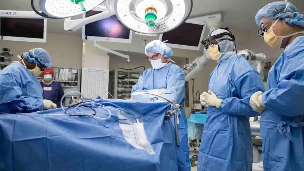 Bilingue operato al cervello da sveglio, una giovane interpr
