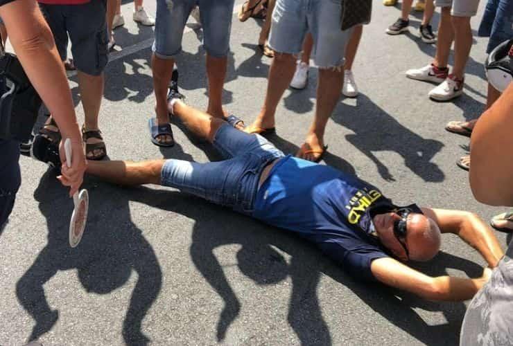 proteste sbarco migranti in Calabria