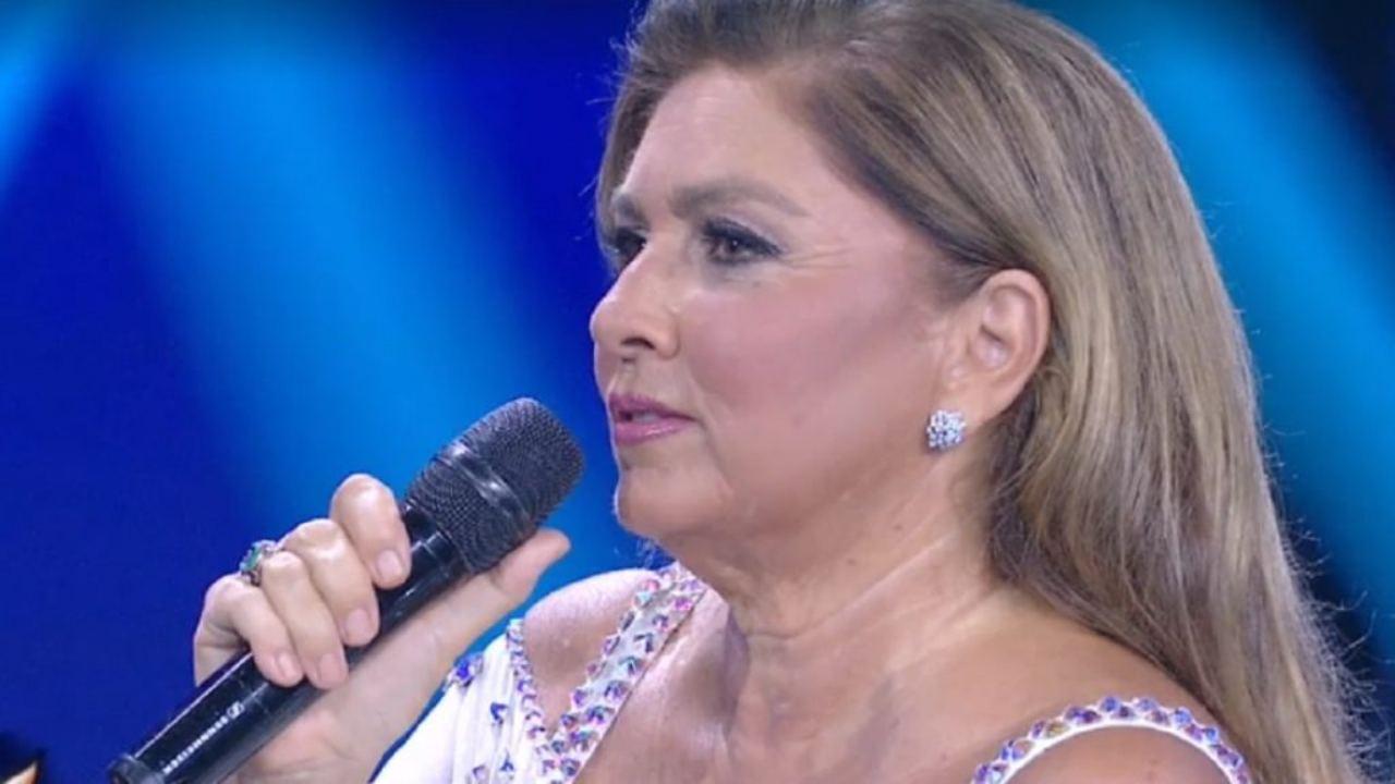 "Romina Power e la tenera confessione a Flavio Insinna : ""È i"
